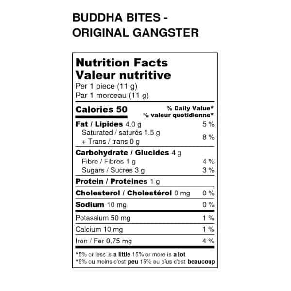 cacao-now-buddha-bites-orginal-gangster-nutritional-label