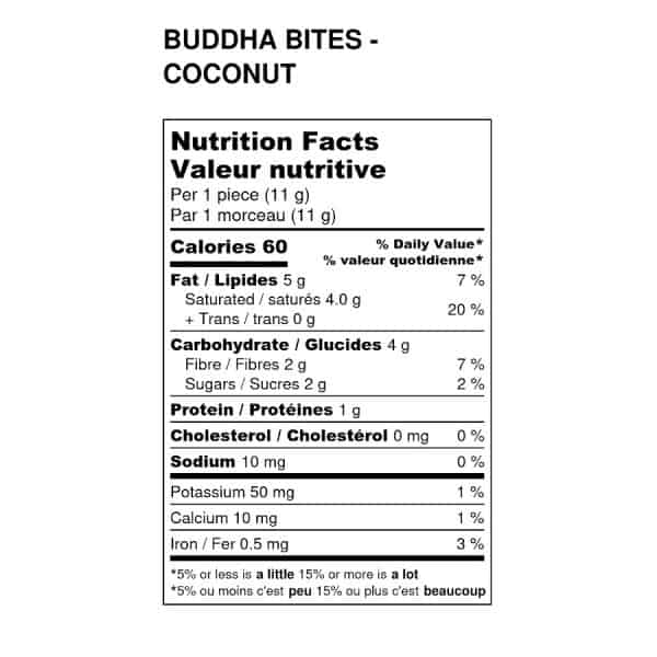 cacao-now-buddha-bites-coconut-nutrition-label